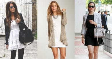 5 Ways To Style A Short Dress In Winter