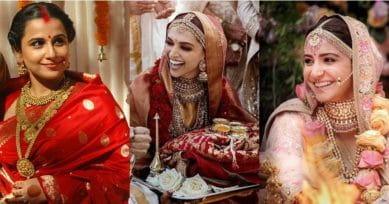 9 Bollywood Brides Who Wore Sabyasachi Outfits On Their Wedding Day