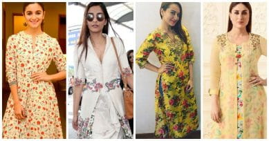 5 Types Of Floral Kurtas You Can Wear This Season