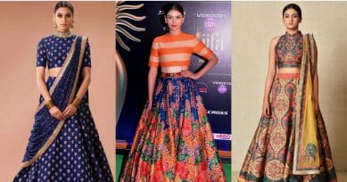 Diwali Special: How To Look Stylish In A Crop-Top Skirt Combo