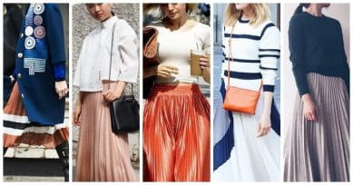 5 Styling Tips For Wearing An Accordion Skirt