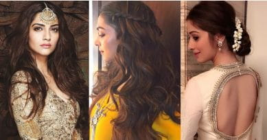 8 Festive Hairstyles That Will Make Your Face Look Thinner