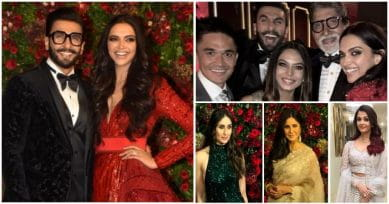 IN PICS: Deepika & Ranveer's Bollywood Bash Was A Star-Studded Affair