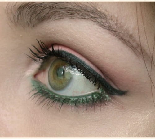 Green Kajal Colour