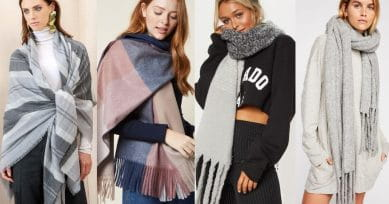 TRENDING: 3 Blanket Scarf Styles You Can Try Out This Winter