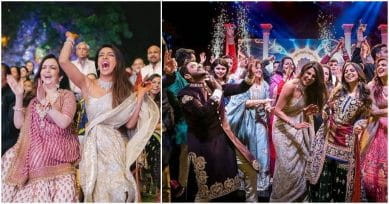 PHOTO ALERT! Priyanka Chopra Shares MORE PHOTOS From Her Sangeet-Dance Competition!