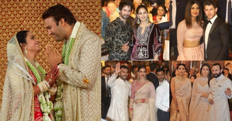 #IshaAmbaniKiShaadi: Bollywood Stars And Famous Personalities Spotted At The 'Wedding of The Year'