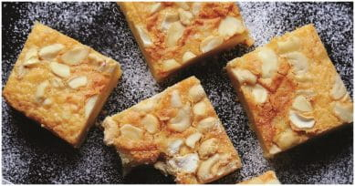 Christmas Special: Bite Into These Chewy White Brownies